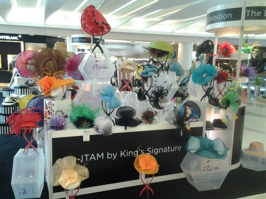 FIRST PHOTOS: Nigerian Milliner, ITAM at the 2014 BurJuman International Millinery Exhibition