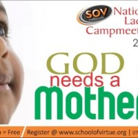 SOV: National Ladies Camp Meeting, Friday 25th to Sunday 27th July 2014, Ogun State,ADMISSION IS FREE