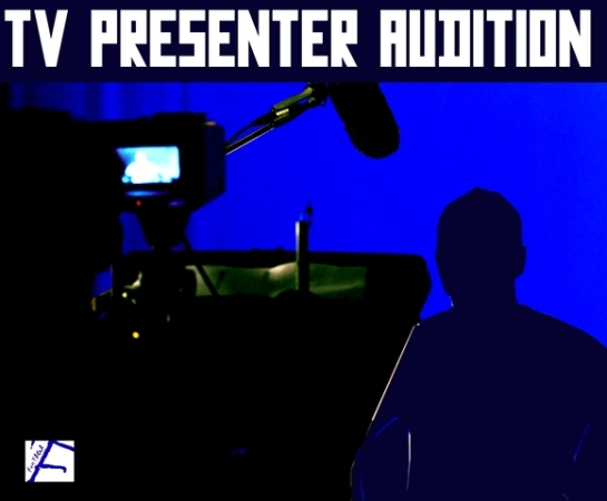 TV presenters audition