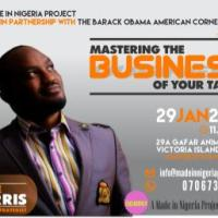MASTERING THE BUSINESS OF YOUR TALENT WITH STEVE HARRIS. January 29 @ 11:00 am - 2:00 pm,FREE TO ATTEND