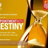 APPOINTMENT WITH DESTINY WITH ADEJUMOKE ADENOWO,Sunday Jan 25th, Muson Center, 3PM