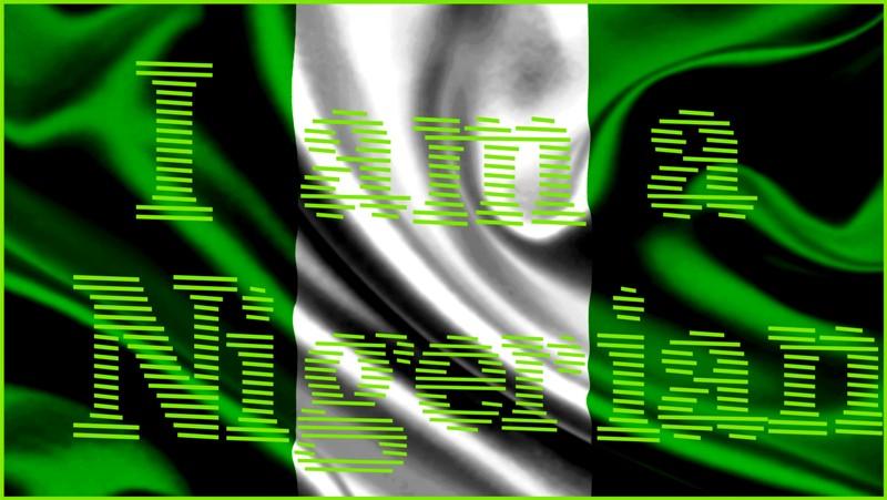Nigeria Flag 2015