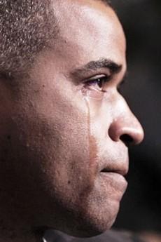 teary man