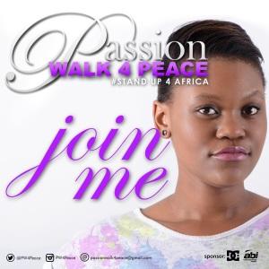#PassionWalk4Peace poster 2