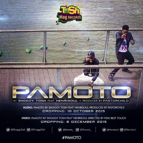 Pamoto by Shoggy Tosh ft Henrisoul - AUDIO (2)