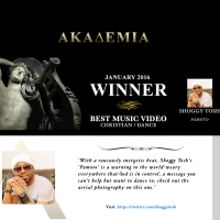 Pamoto by Shoggy Tosh featuring Henrisoul directed by Femi Best Touch wins Best Video in Hollywood
