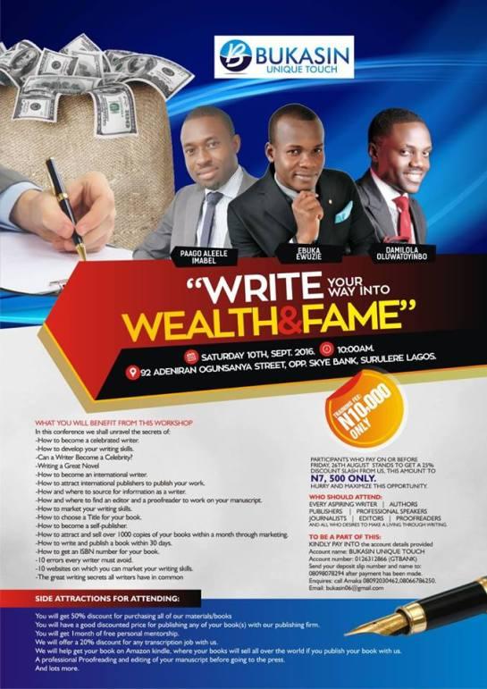 handbill wealth
